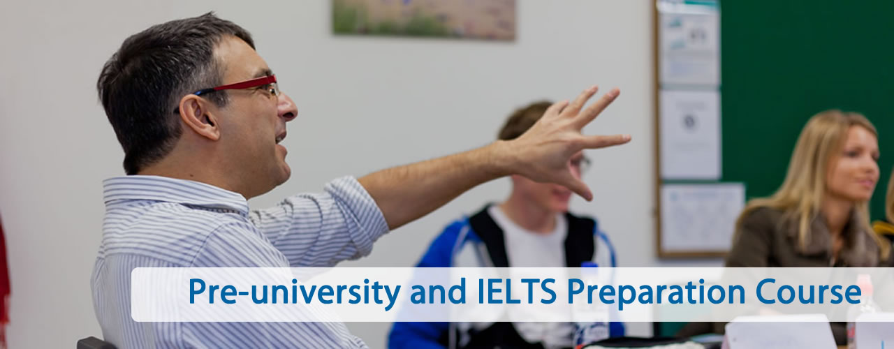 Pre-University and IELTS preparation courses