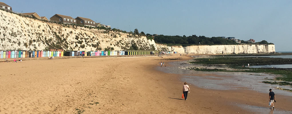 Local beach voted the best in Kent!