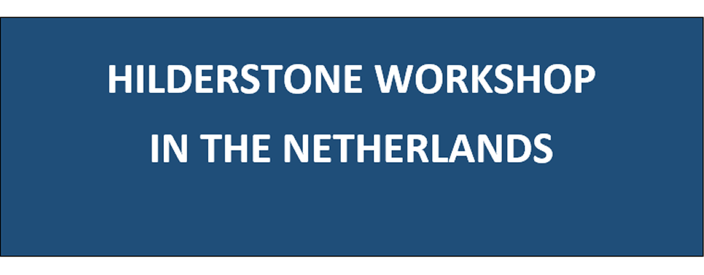 Hilderstone College - TEACHER WORKSHOP IN THE NETHERLANDS