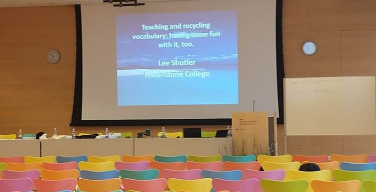 Lee Shutler, our Principal, writes about his experiences of the ETAS events he regularly attends.