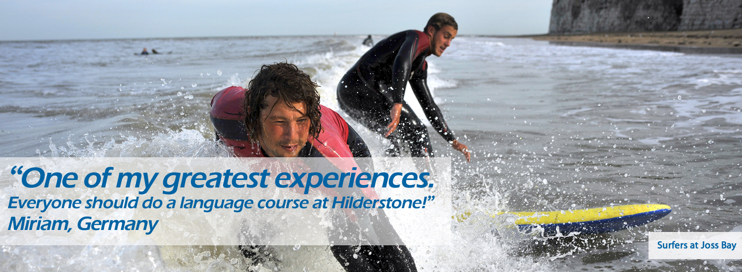 Hilderstone College - English + Action